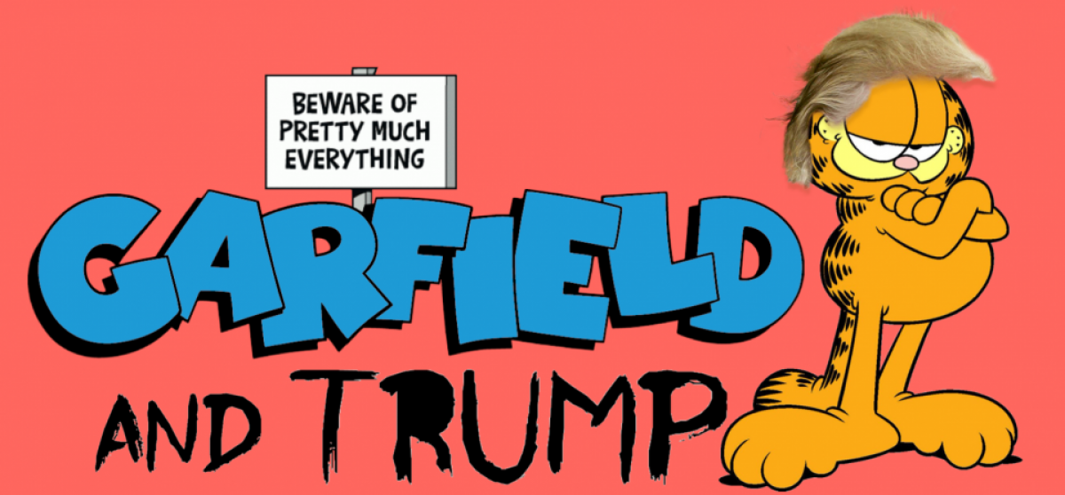 Garfield and Trump